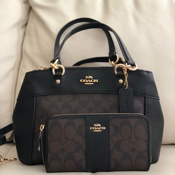 cd0bc14dbab0 COACH MINI BROOKE CARRYALL IN SIGNATURE   WALLET